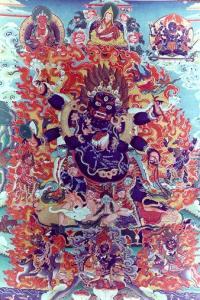 wrathful buddha